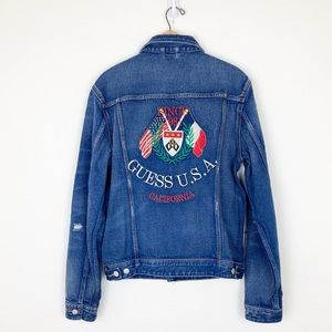 NWT Guess 1981 Capsule Dillon Denim Jean Jacket
